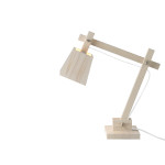 wood lamp_white