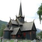 DSC_0638 - Norsko - Lom - trojlodní roubený kostel