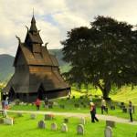 Sloupový kostel Vik